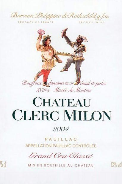 Chateau Clerc Milon label
