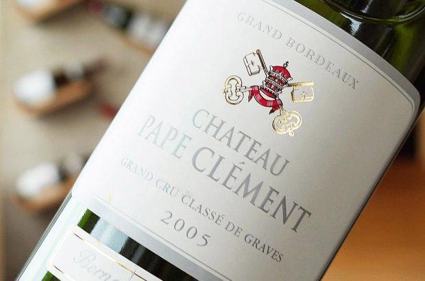 Chateau Pape Clement label