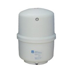"Reverse Osmosis Water Storage Pressure Tank - White 1/4"" Male Threads"