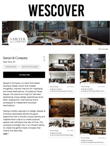 Sawyer & Company Featured in Wescover