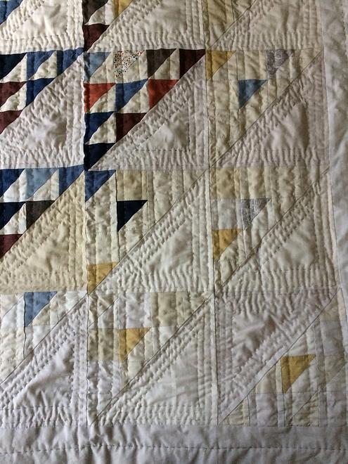 Jess Feldman - Flying Geese quilt.webp