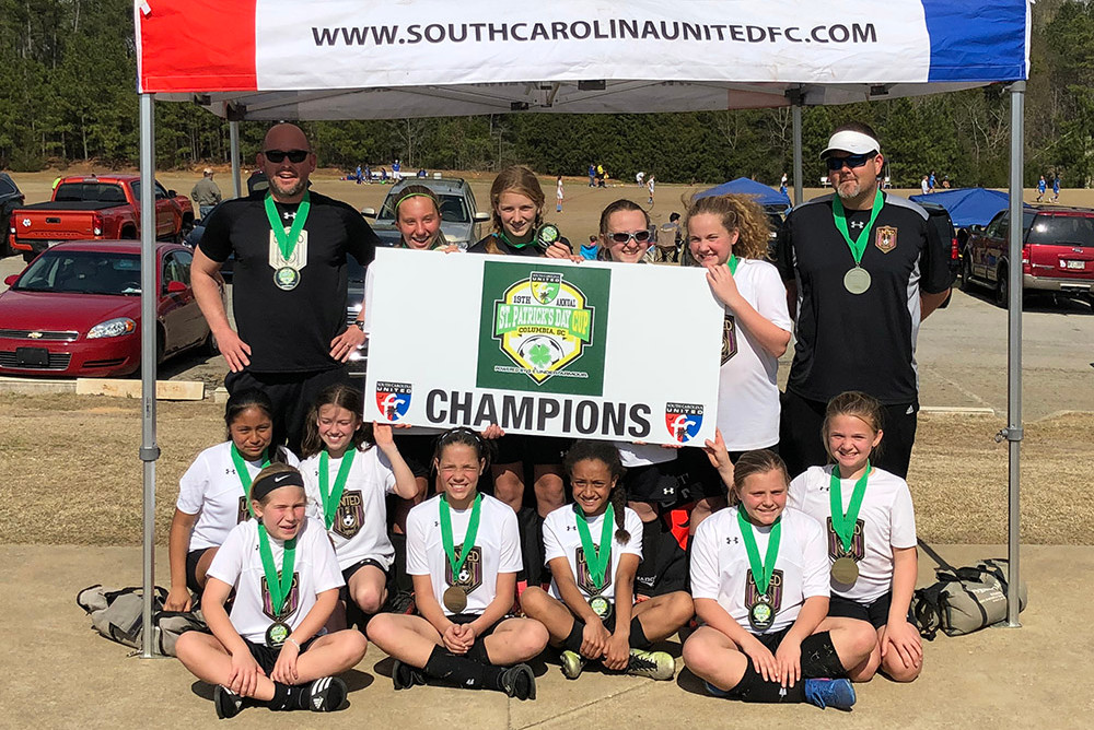 06g White Champions at St Patrick's Day Cup in Columbia, SC