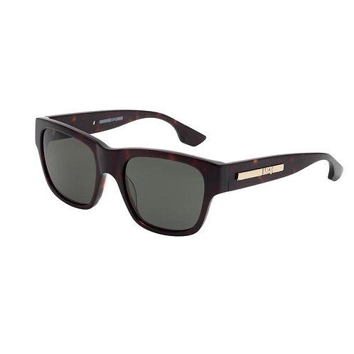 McQueen MQ0029S 002 Havana Sunglasses Sonnenbrille Grey Green Lenses 54mm