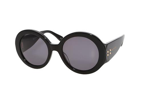 Alexander McQueen AM0032s 001 Black Sunglasses Sonnenbrille Grey Lenses