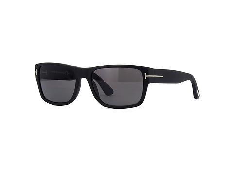 TOM FORD MASON TF 445 02D Matte Black POLARISED Sunglasses Sonnenbrille Size 56