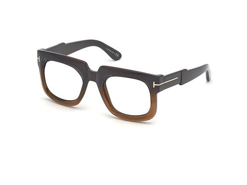 Tom Ford CHRISTIAN 0729 048 Black Brown Gradient Frames Sonnenbrille 53mm