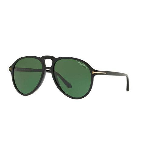 Tom Ford Lennon FT0645 01N Black Aviator Sunglasses Gafas de sol