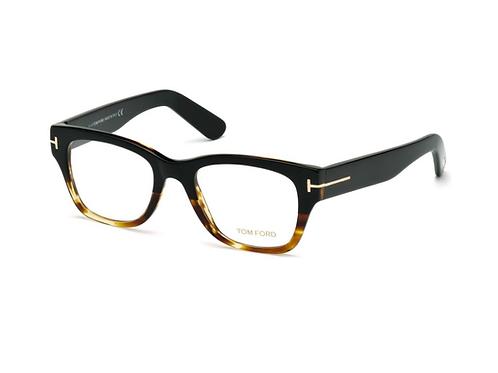 Tom Ford TF 5379 005 Black Unisex Brille Glasses Frames Eyeglasses Size 51