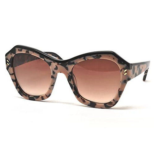 Stella McCartney - SC0022S, Geometric, acetate, women, ROSE HAVANA BLACK