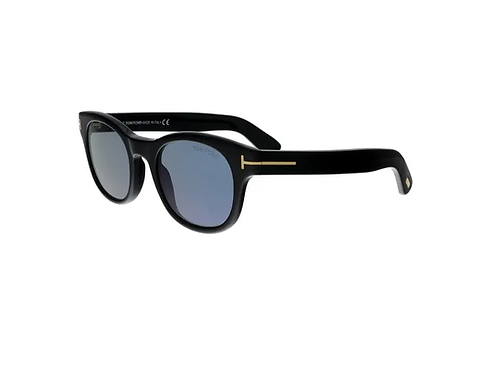 Tom Ford FISHER FT0531 01V Black Sonnenbrille Sunglasses Photochromic Shades