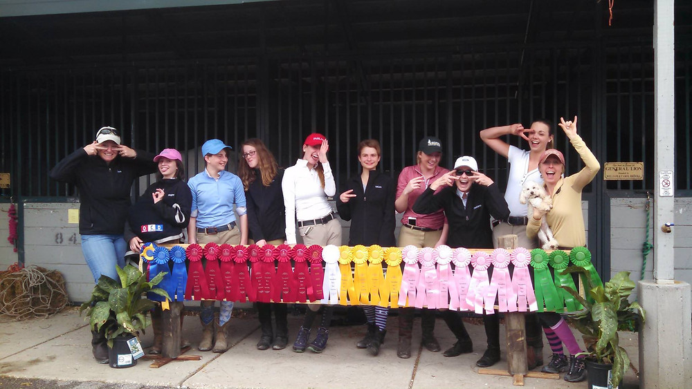 The HTS Crew might have been a little slap happy after a weekend of showing at the Kentucky Horse Park!