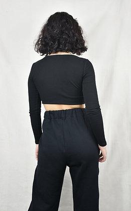 Pantalon soft noir