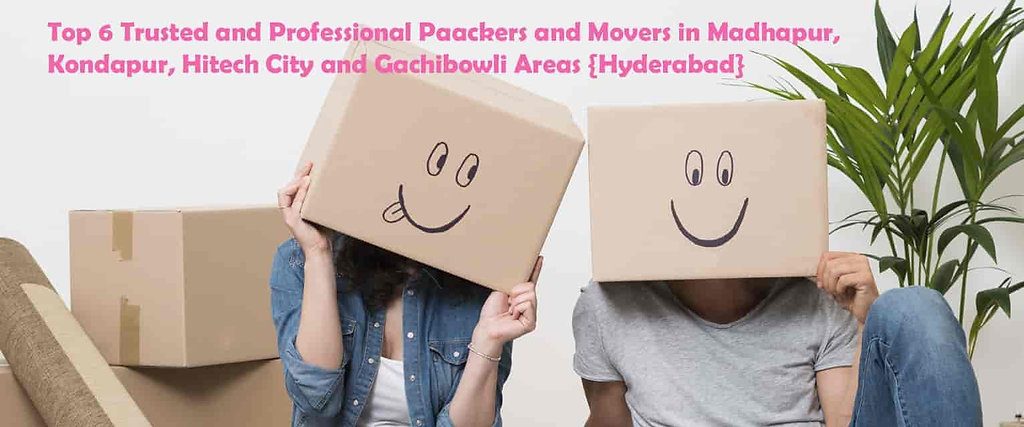 Best 6 Verified and Trusted Packers and Movers