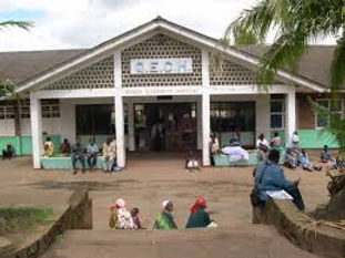 Queen Elizabeth Central Hospital in Blantyre Malawi