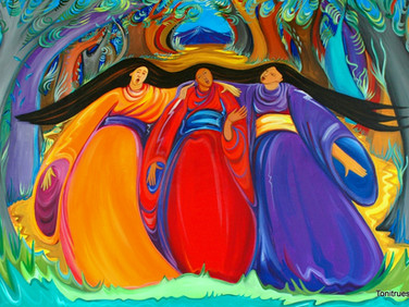 The Three Singers of Mt. Ashigara