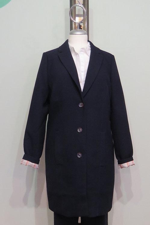 Mantel Coat with stripe details