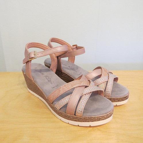Sandale Keilabsatz