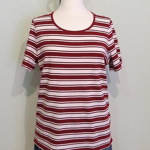 Shirt Stripe Basic Shirt