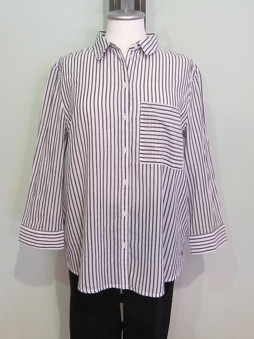 Bluse Stripe 3/4 Arm