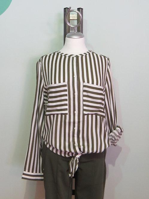 Bluse Stripe Blouse