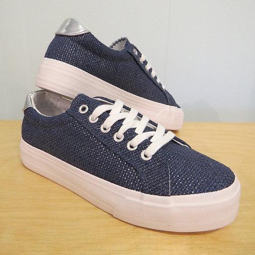 Sneaker Textil Flechtoptik