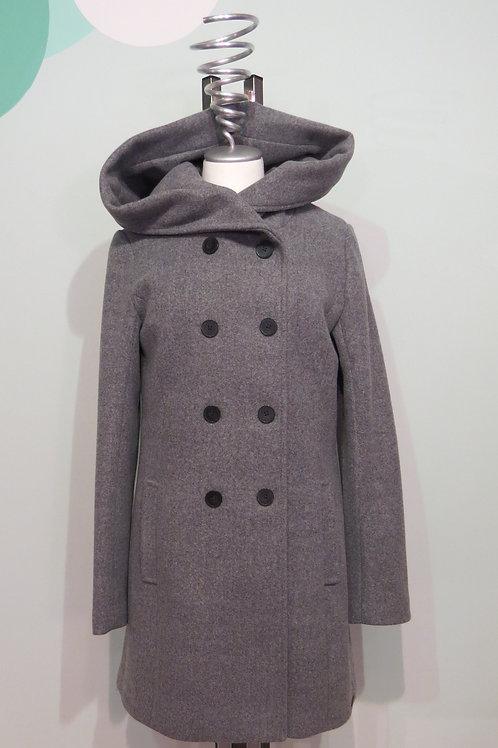 Mantel Wolle/Kapuze