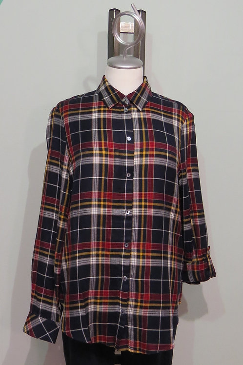 Bluse Flanell Check