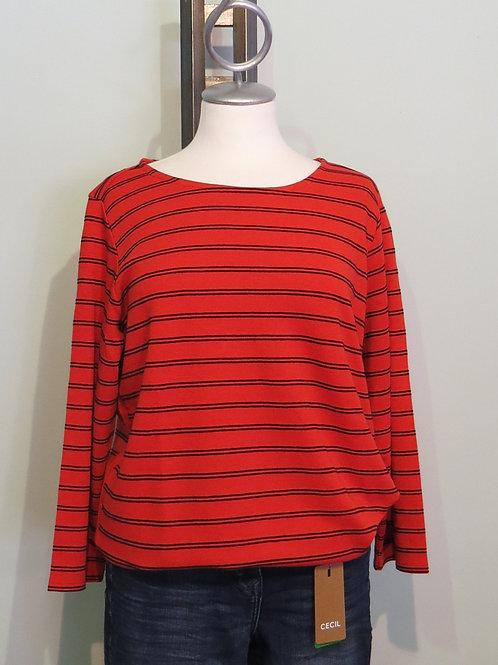 Shirt Stripe Ottoman