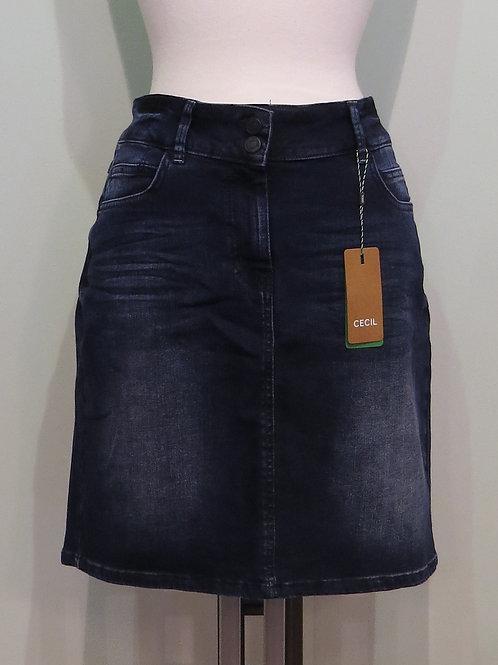 Rock Skirt Blue Black