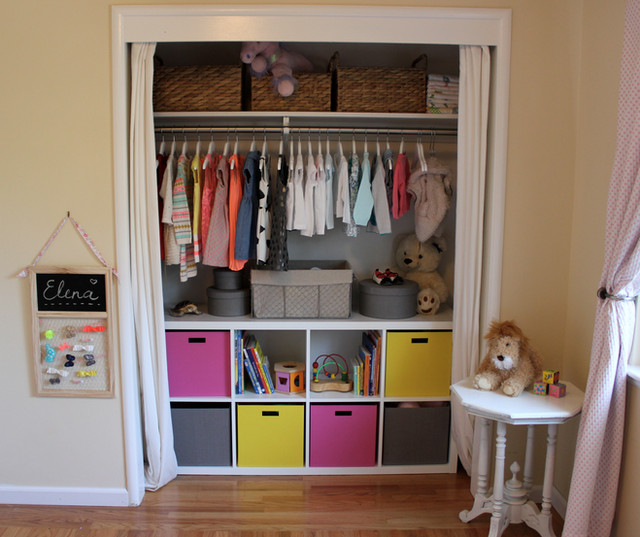 A More Useful Kids Closet - Before & After