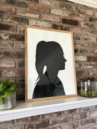 How to Make Your Own Shadow Portraits