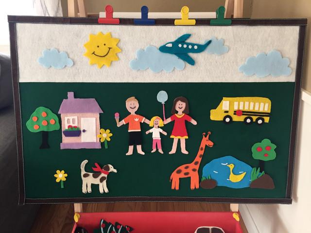 DIY Felt Play Board