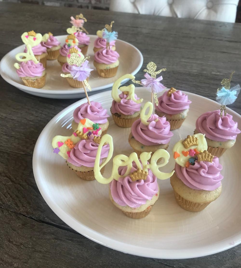 Custom cupcake toppers