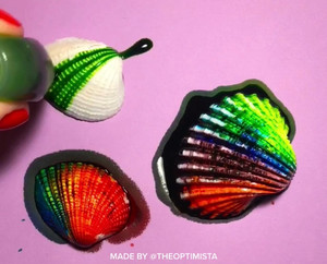 How to Make the Cutest Painted Shells