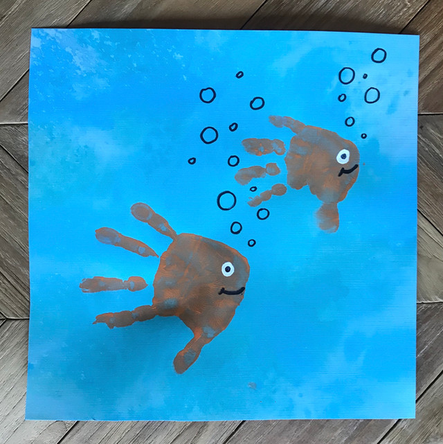 Handprint Fish Make the Cutest Gifts