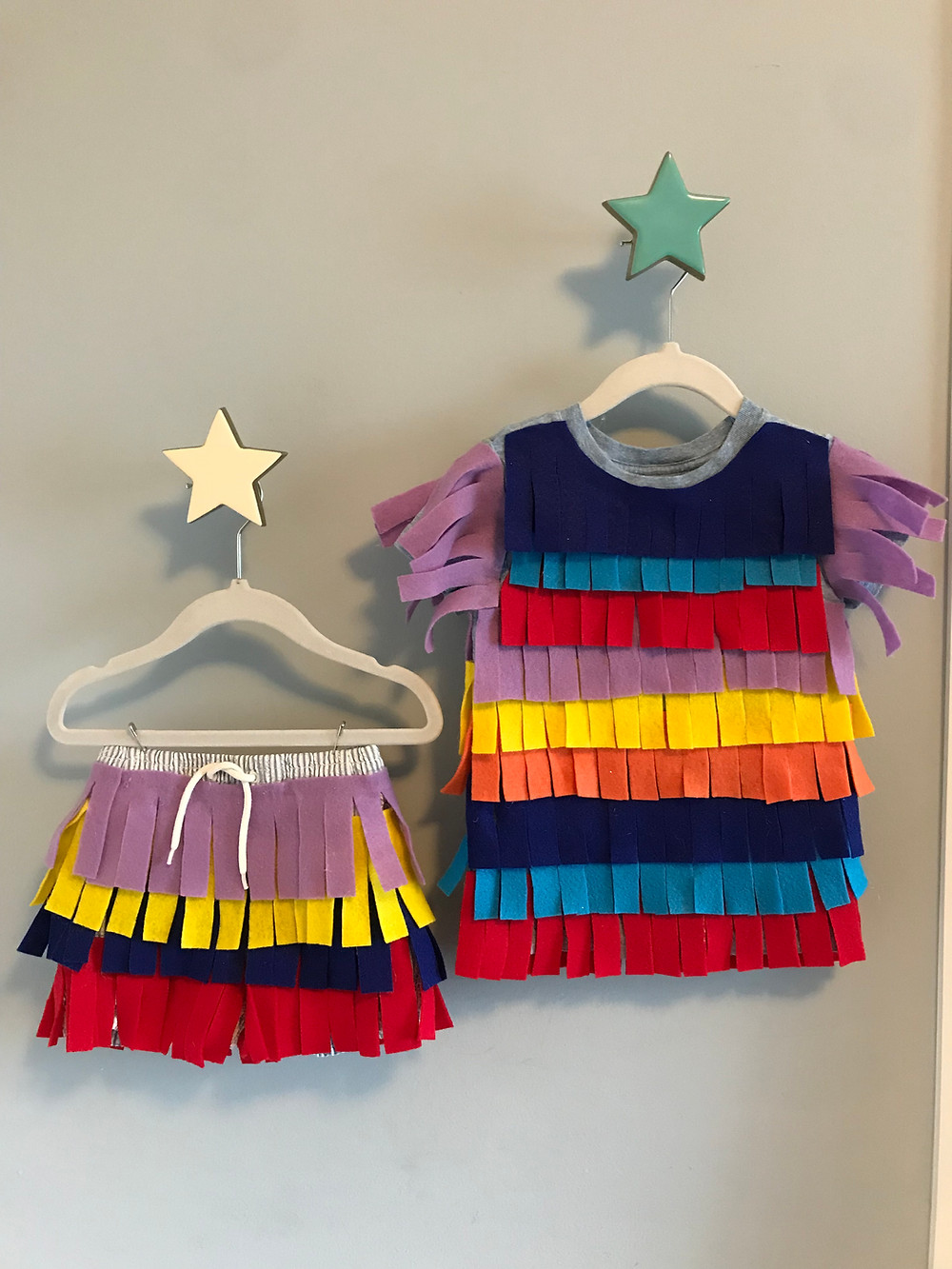 DIY pinata no sew costume