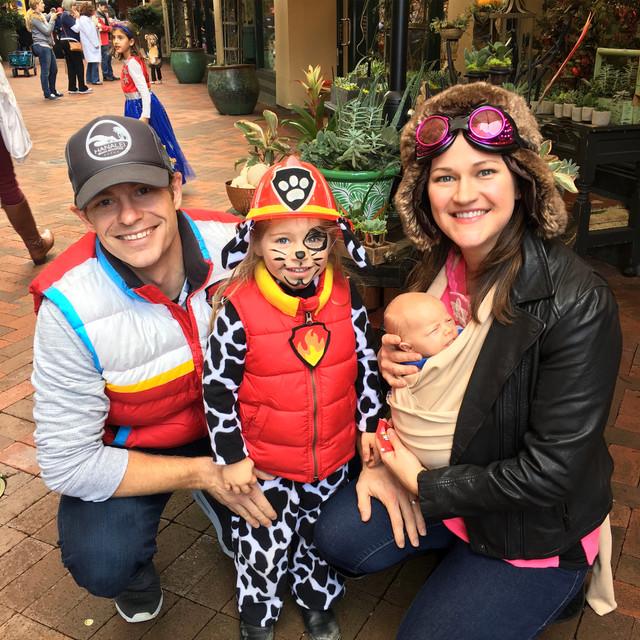 DIY Paw Patrol Family Costume