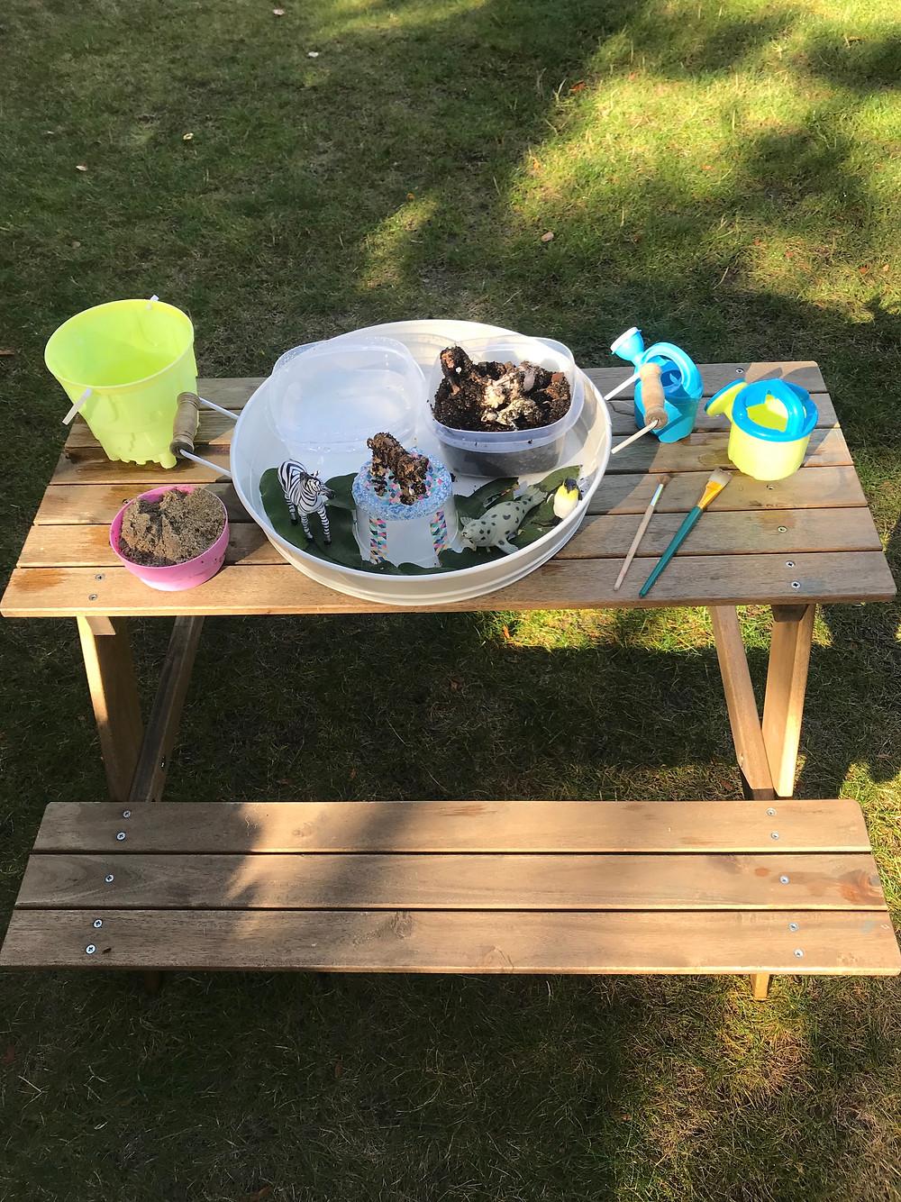 Kids outdoor activity