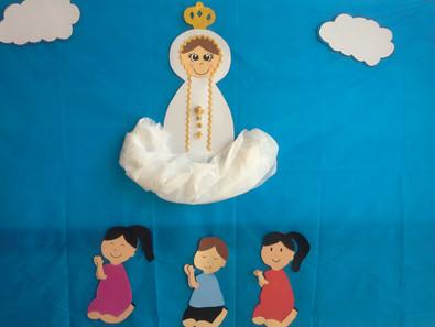 Celebração de Nossa Senhora de Fátima