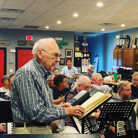 Mr. John Gilbert Runs Ferko Rehearsal