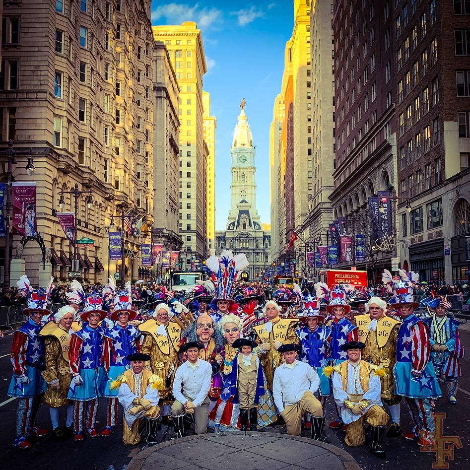 Ferko Mummers on Broad Street