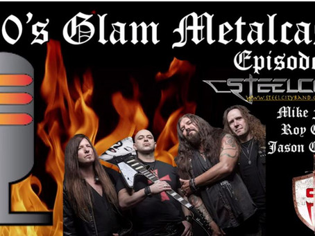 Interview with 80s Glam Metalcast