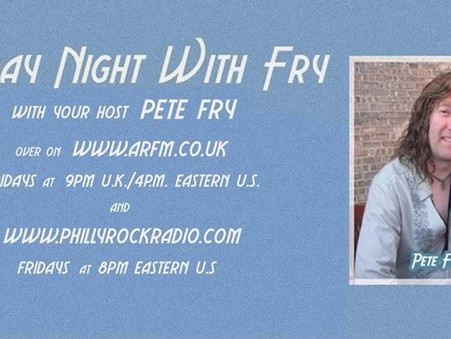 Pete Fry (ARFM) FRYday Night with Fry ... Interview with Mike Floros & Tony Stahl of STEELCITY!