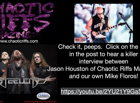 Interview by Chaotic Riffs Magazine with Mike Floros