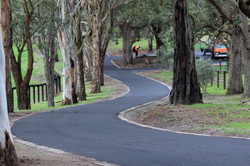 Rural Property driveway