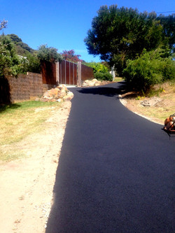 Newly Completed Driveway - Rye