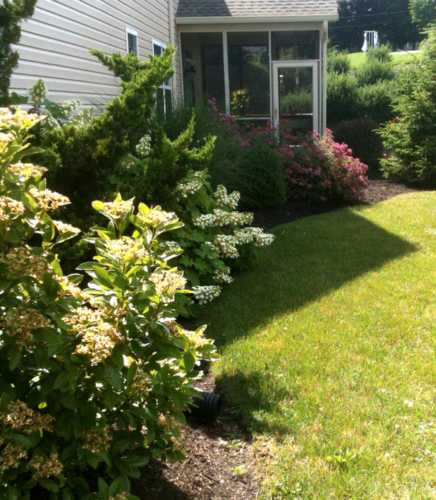 Hershey Townhome garden - Ruth Consoli Design
