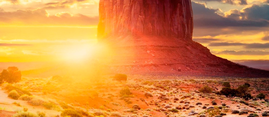 Passando pelo deserto