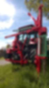balancerende pundulum aandrijver tractor