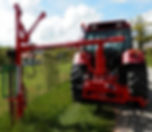 Tractor with pole drive